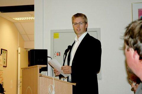 Ny byrådssekretær: Tommy Skjervold representerer Fremskrittspartiet i Østensjø bydelsutvalg. Nå har han også fått seg jobb i Rådhuset.