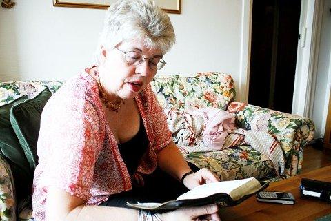 Kari Hilde French finner styrke i bibelen og sin gudstro.