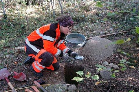 Arkeolog Marianne Bugge Sørgård bidro til å flytte byens historie bakover. Foto: Ivar Brynildsen