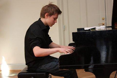 Jonas Aune (16) fra Ås.  FOTO: UNA OKSAVIK OLTEDAL