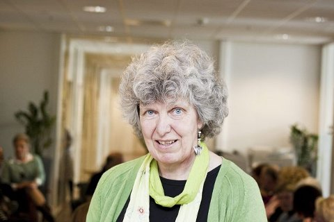 nytt: Professor Marit Borg ved Høgskolen i Buskerud (HIBU) gleder seg til oppstarten av et nytt studium der personer med erfaring fra psykiatrien skal forske på dette feltet sammen med fagpersoner. foto: HIBU