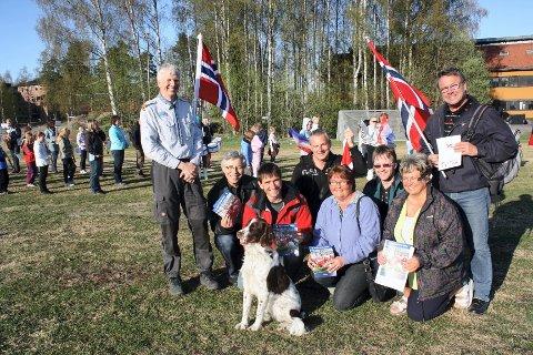 GODE RESULTATER: Alle speidertroppene fra Hedmark fikk gode resultater i helgens Norgesmesterskap i speiding. Roy Arild Rugsveen (bildet) er fornøyd med helgen.