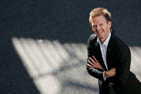 Leder i Østfold Høyre Tage Pettersen er veldig fornøyd med målingene