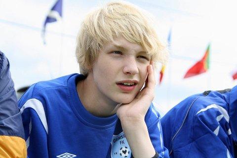 Svensk stjerne: Amors Baller var så heldige å kapre den svenske skuespilleren Kåre Hedebrant (15) også kjent fra filmen La den rette komme inn. Foto: Helene Falstad