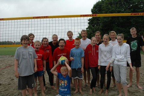 Oslo Volley arrangerte treningsuke for de yngre i klubben.