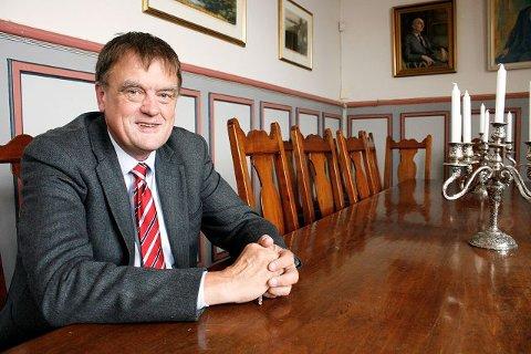 Jan Ljøner gleder seg til å ta fatt på utfordringene i ny jobb som rektor ved Nordstrand videregående skole.