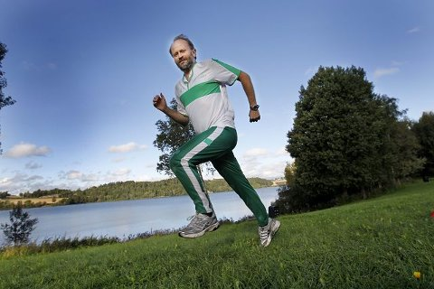 Håvard Steinsholt fra SV håper mange vil utfordre en politiker under Årungen Rundt på lørdag. FOTO: BJØRN V. SANDNESS