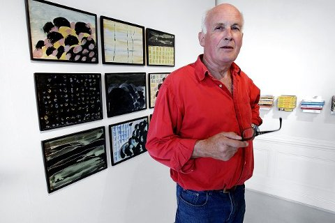 Fredrikstadkunstner Terje Westfoss viser utstillingen «Speilvendt» på ØKS.