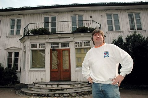 Reidar Kristoffersen har ikke gitt opp planen om å rive Rådhusgata 10. Arkivfoto: Bjørn Ulstad