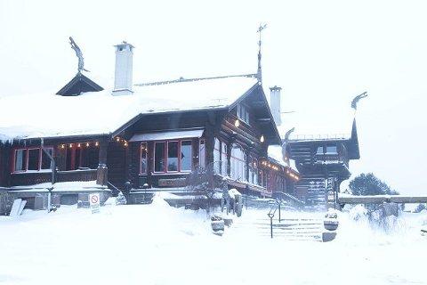 Populære Fognerseteren i vinterskrud.   FOTO: VESLEMØY VRÅSKAR
