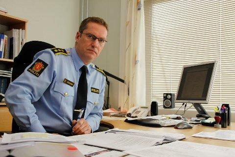 Politistasjonssjef Jørn Schjelderup.