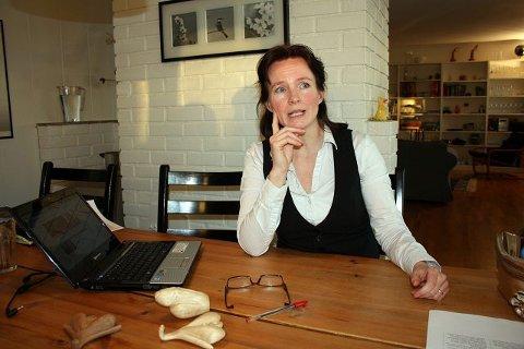 Sexolog Stine Cathrine Kühle-Hansen fra Kolsås er rådgiver for dagens Trekant-program.