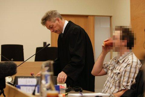 Den 41 år gamle mannen ble dømt til fengsel i fem og et halvt år.