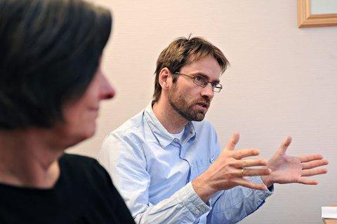 Lars Håvard Bakke leder ACT-teamet i Follo. FOTO: OLE KR: TRANA