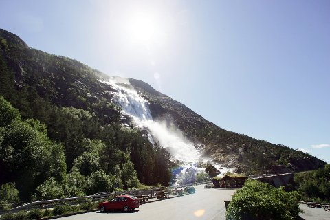 Med Langfoss i porteføljen kan Odda med tyngde kalle seg den store fossekommunen i Norge.