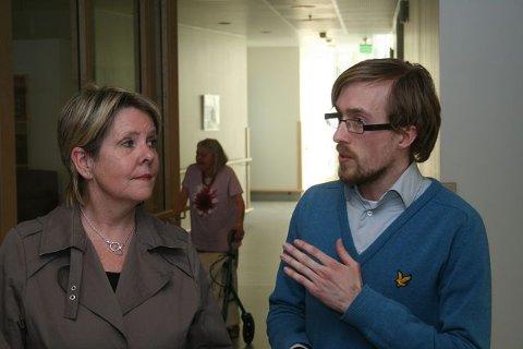 SKEPTISK: Tjenesteleder Tove Lise Ellingsen på Mariehaven mener ordningen vil bli kostbar, noe forslagsstiller Dag Gladmann Sørheim ikke benekter. FOTO: HAKON HOLTAN