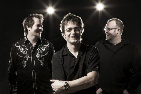 Vibro Kings: Bjørn Kjonerud (i midten), Bjørnar Sleppen og Jan Tore Øverstad utgjør bluestrioen Vibro kings. Arkivfoto