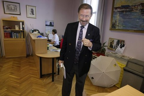 Populær: Petter Steen jr. har vært ordfører i Haugesund i ti år, og er den suverent mest foretrukne blant ordfører- kandidatene foran årets kommunevalg i sildabyen. Arkivfoto: Alf-Robert Sommerbakk