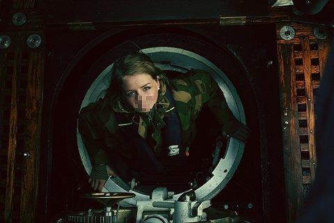 Superblogger Marie Brudevold tilbragte tre dager forrige uke under vann, under en ubåt-tur