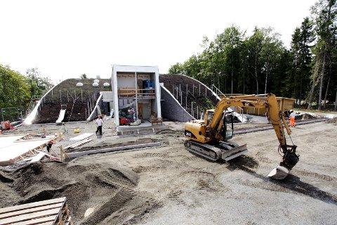 Slik ser Brattås barnehage ut i dag. Den åpnes 22. august.