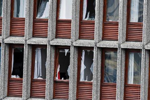 Kraftig bombeangrep i Oslo har ført til flere skadde og omkomne