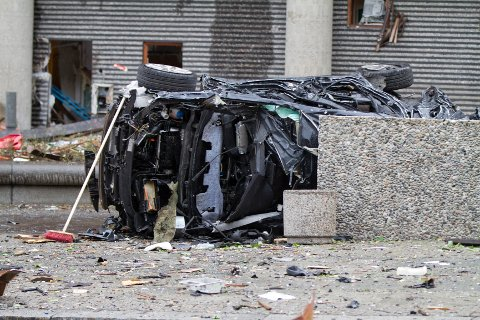 Politiet bekrefter at bomben i Oslo satt i en bil.
