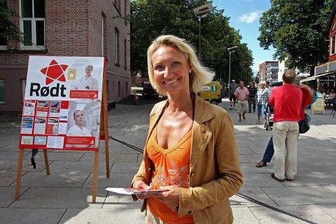 Grete Rosengren er nr tre på Rødts liste.