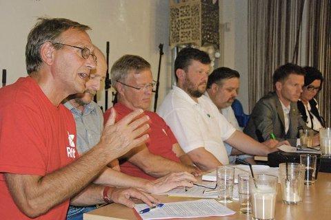Rødt Eirik Tveiten representerte Rødt under gårsdagens møte