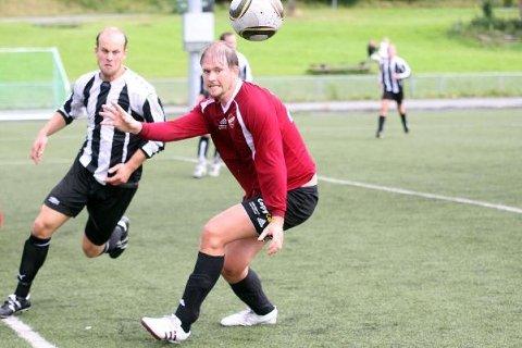 SCORET IGJEN: Anders Berle satte inn et mål mot Grei lørdag.