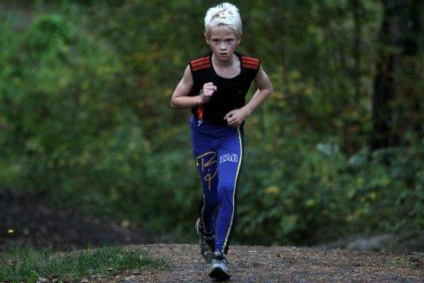 Imponerende: Vegard Stokke løp først opp en gang, deretter gjorde han det en gang til.