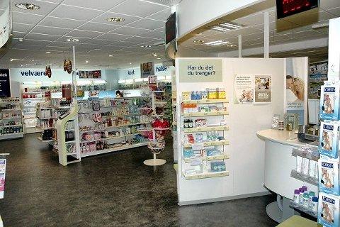 BOOTS apoteket i Svelvik, slik det ser ut i dag, 150 år etter åpningen.