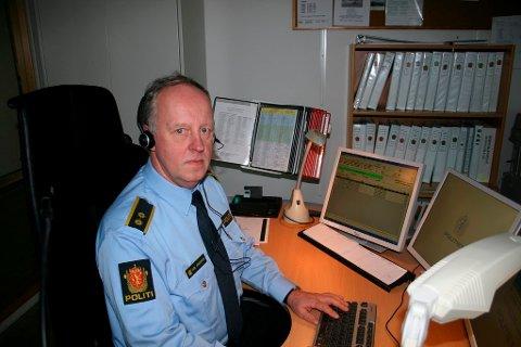 Operasjonsleder Karl Jørgensen ved Telemark politidistrikt.