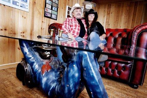 Torfinn Helberg og Kari Stene har en felles hobby som gir dem mye glede. ALLE FOTO: CHRISTINE HEIM