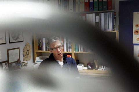 LEDER: Bjørn Watle leder allmennlegerådet i Opegård. FOTO: BJØRN V. SANDNESS