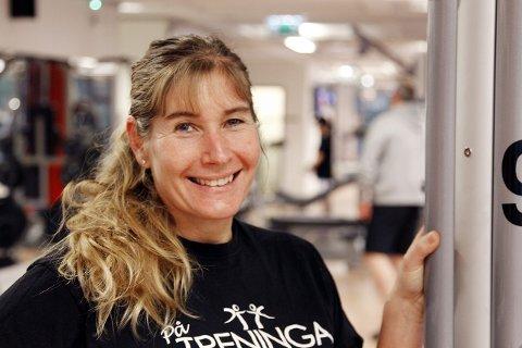 Trine Hattestad skal lede dansen i Sofiemyrhallen. Foto: Bjørn V. Sandness