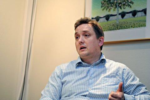 uvitenhet: Distriktsbanksjef Øyvind Staff mener at altfor mange unge ikke vet konsekvensen av å få  en betalingsanmerkning.