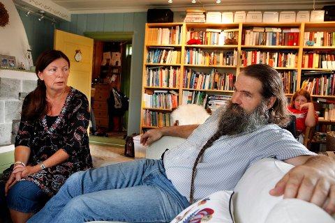 MÅ UT: Leiekontrakten Anne-Karin og Flemming Rosengren hadde med Bærum kommune gikk ut i fjor sommer, men paret har hele tiden nektet å flytte.