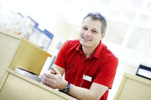 Frank Pedersen har fungert både som daglig leder og markedssjef i Nøtterøy Håndball.