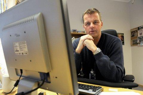 Krimsjef Lars Reiersen har jobbet ni år ved Sandefjord politistasjon - først som ordenssjef.