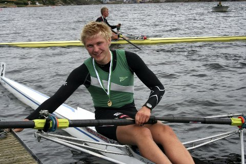 Kris Cato Tohn har all grunn til å smile etter han ble tatt ut i den norske troppen til U23-VM. Arkivfoto:  Ida Marie Abrahamsen