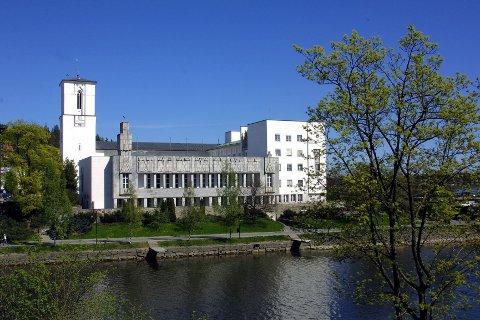 RÅDHUS: Bærum rådhus er kommunens viktigste og kanskje vakreste?