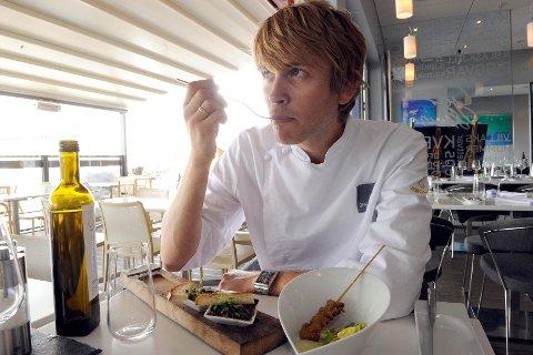 Geir Skeie foretrekker de norske sneglene med en asiatisk vri. Foto: Kurt André Høyessen