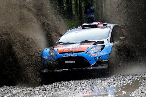 Mads Østberg i Rally Finland.