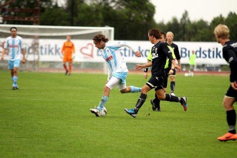 Eirik Markegård scoret mot gamleklubben Stabæk.