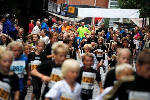 Christian Frederik-løpet vil inneholde flere forskjellige løyper, deriblant én på 5 000 meter. Her fra fjorårets barneløp.