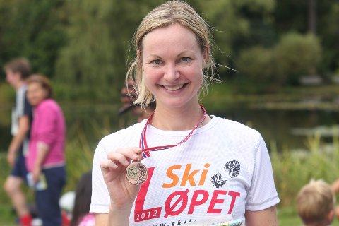 BESTE KVINNE: - En idyllisk tur, mente Margrethe Førre Nardocci fra Langhus, som var første kvinne rundt Årungen.