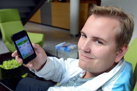 – Det viktigste for å få appen populær, er å ha en god idé og ikke lage den for komplisert, sier Thor Erling Prestbøen (24) fra Sandefjord, som står bak den populære appen Quizzer.
