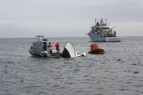 Hummerfisket fikk en dramatisk start da fiskebåten til Olaf Thon tok inn vann.