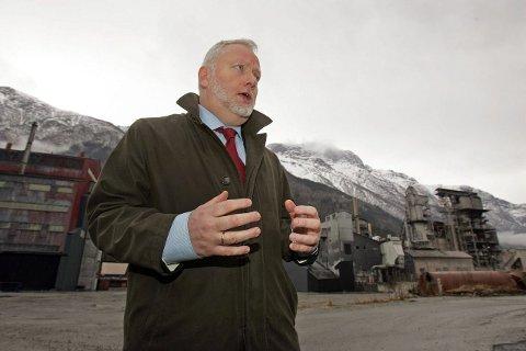 LEGGER PRESS: Jørn Holme har gitt Odda klar melding om at kranglingen må avblåses – ellers blir det ingen verdensarv. ARKIVFOTO: KAI-INGE MELKERAAEN