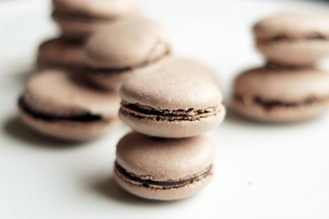 Sjokolademakroner er populært blant ungdom.